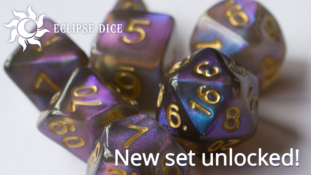 Eclipse Dice: Aurora Lights Collection project video thumbnail