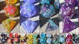 Dragons of Little Dragon Corp Dice Sets - 11pcs & Pins thumbnail