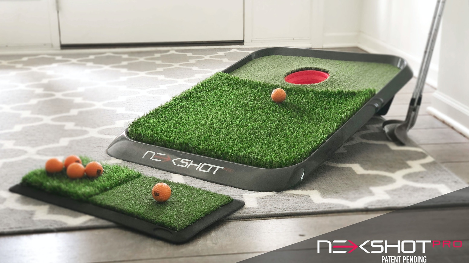 Improve all aspects of your short game from home with NEXShot Pro