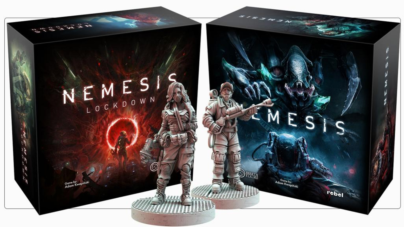 Stand alone expansion to one of the biggest Board Game hit of recent years, Nemesis