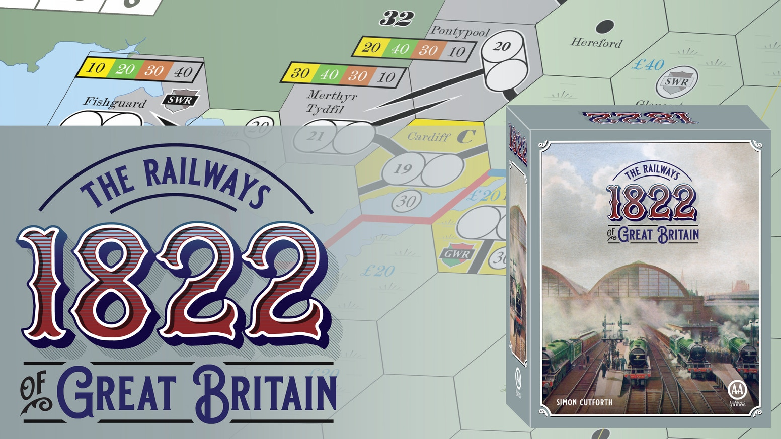 Simon Cutforth's innovative title set in Great Britain that grew an entire new branch of 18xx!