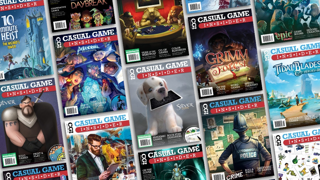 Casual Game Insider - Board Game Magazine (9th Year) project video thumbnail