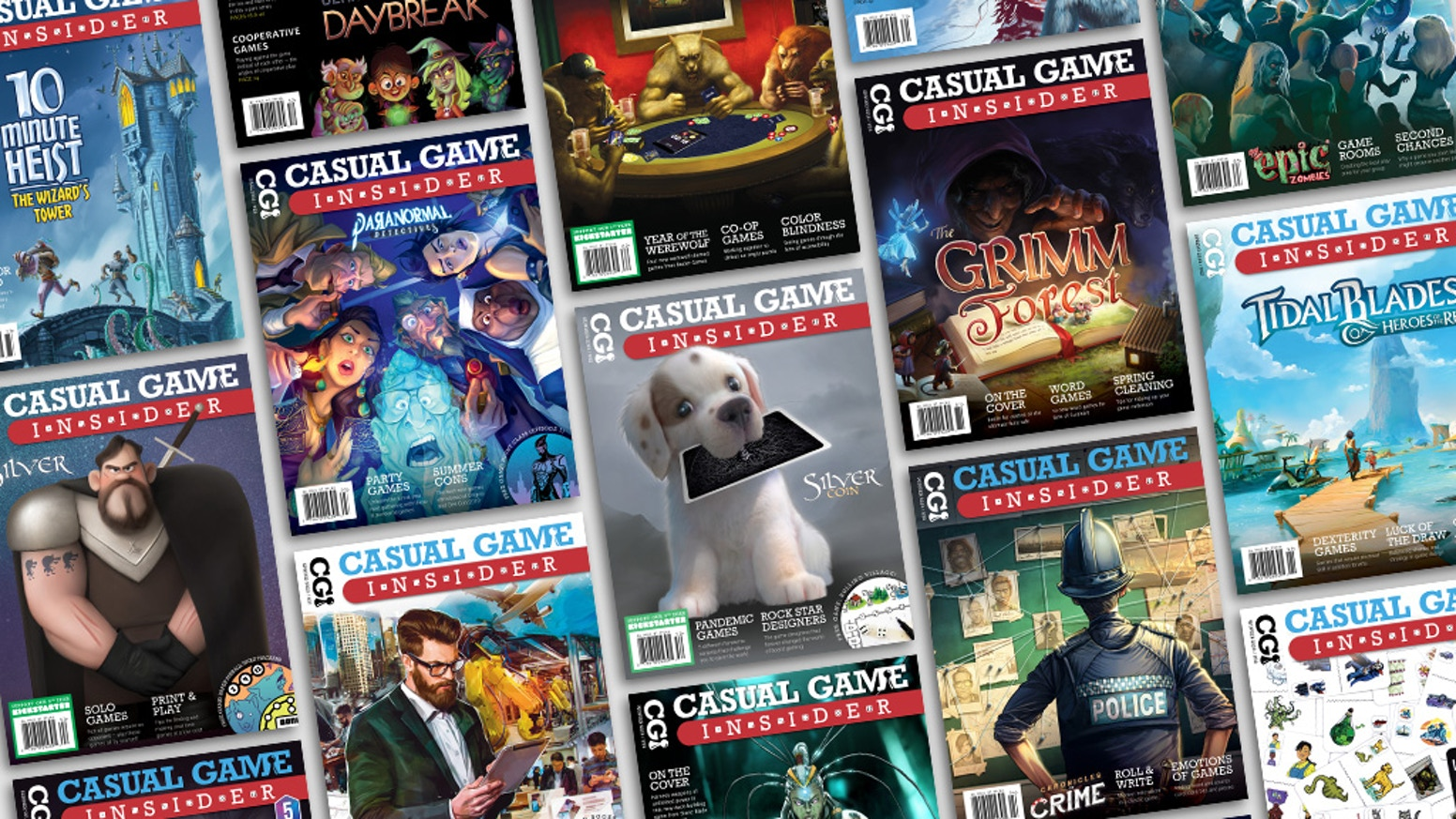 The premier print and digital magazine about casual board games. Reviews, interviews, tips, and discussion about the games you love!
