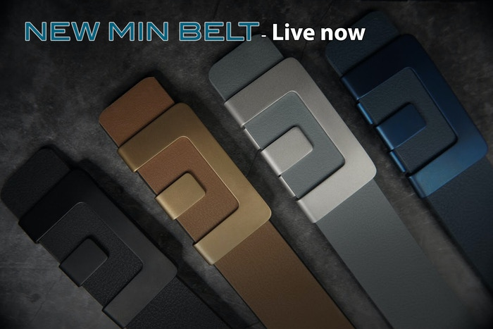Premium, Creative, Minimalist, Never Before, Unique, Stylish, Colorful, Super Durable, Easy to Use, Versatile ... Enough for a belt?