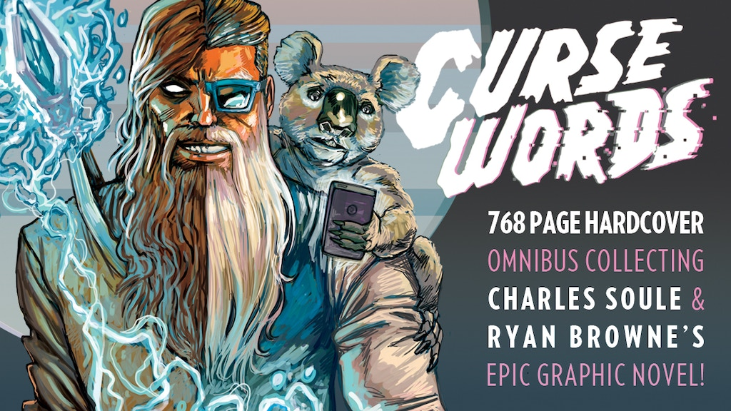 CURSE WORDS: THE HOLE DAMNED THING 768 Pg HARDCOVER OMNIBUS project video thumbnail