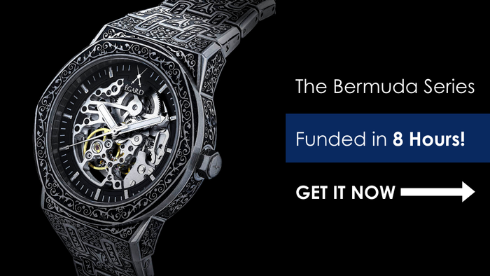 A series of engraved watches unlike anything else on the watch market.