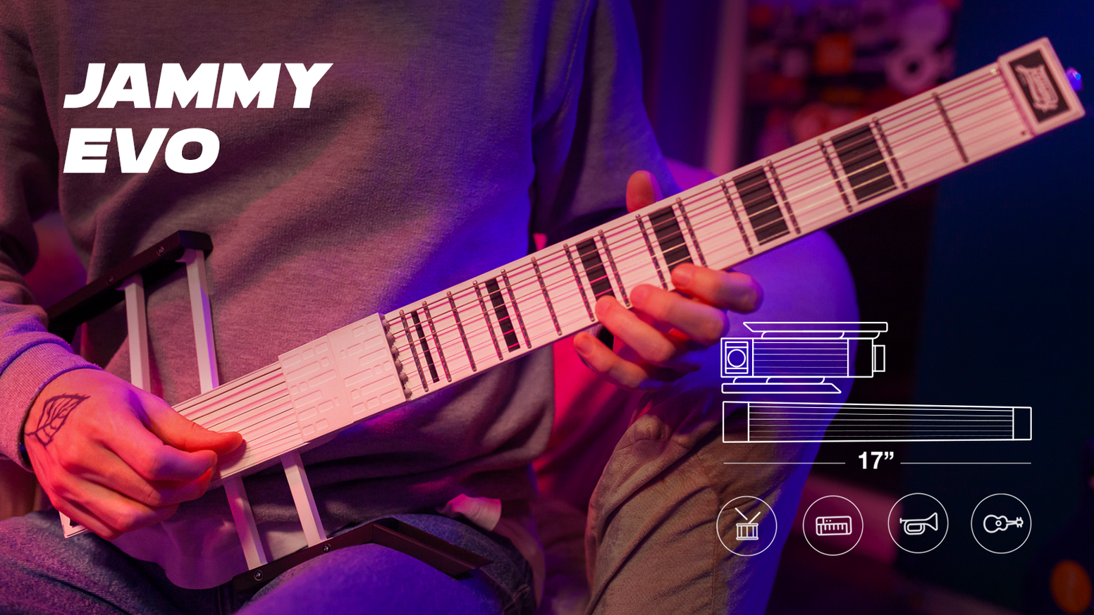 A MIDI controller to evolve your guitar playing into full-fledged music production