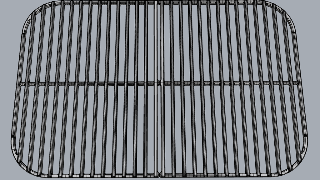 Project image for Cast Iron Grate for the PK classic grill
