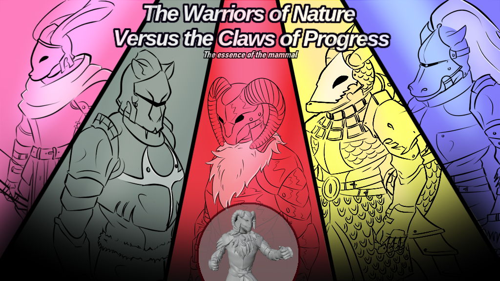 Project image for The Warriors of Nature Versus the Claws of Progress