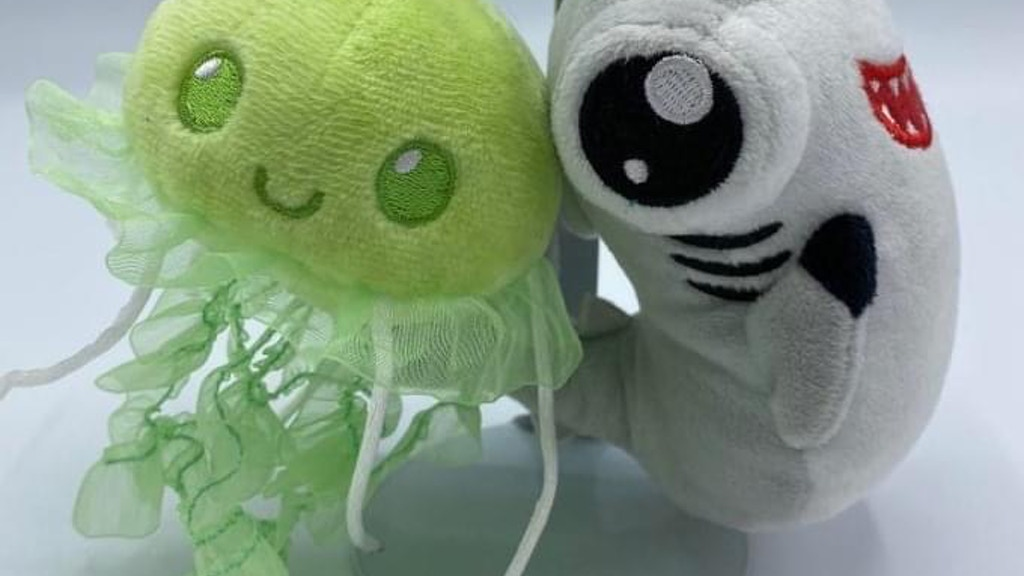 Sea Creature Plush Keychain Manufacturing project video thumbnail