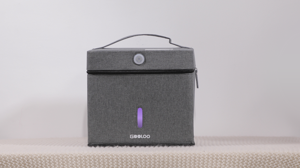 GooBox: A 10L Foldable, Portable & Cordless UV Sanitizer Bag