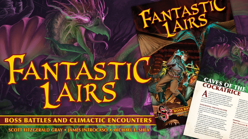 Fantastic Lairs: Boss Battles & Final Encounters for 5e D&D project video thumbnail