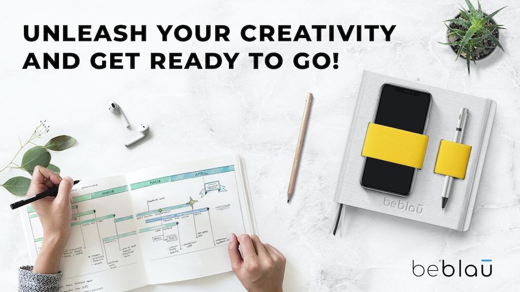 FLEX smart organizer, flexible planner & creative notebook project video thumbnail