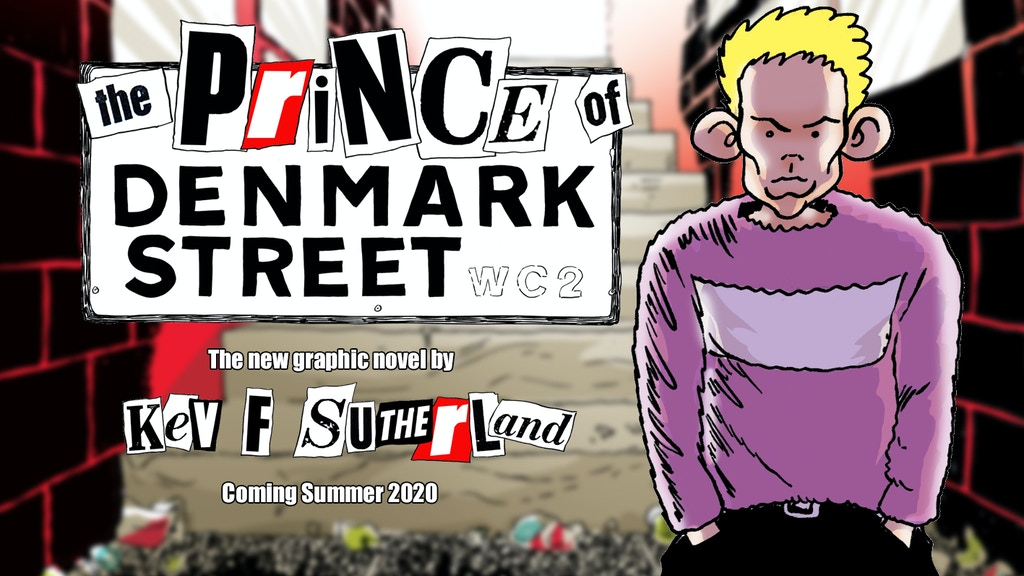 Prince Of Denmark Street - graphic novel project video thumbnail