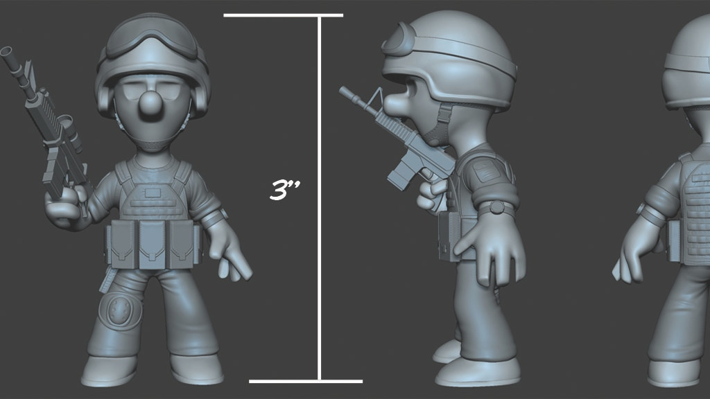 Project image for Pvt Murphy limited edition Toy Figure