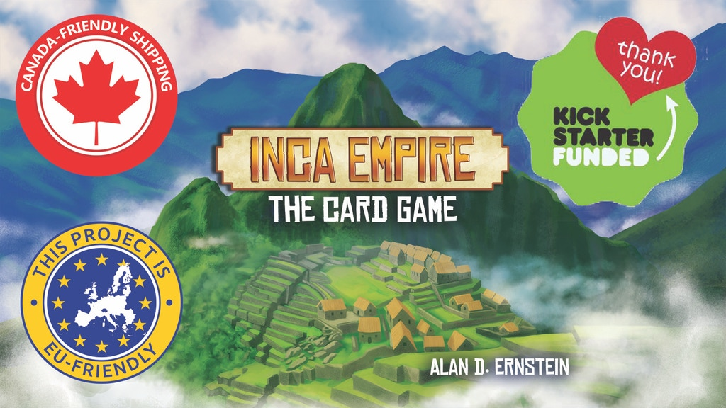 Inca Empire: The Card Game project video thumbnail