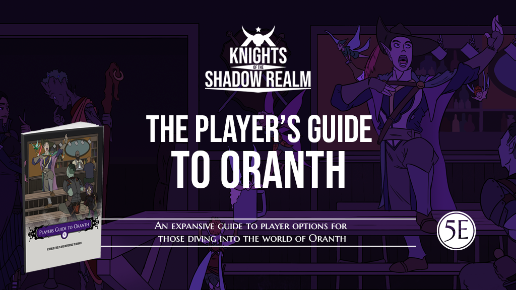 Player's Guide to Oranth project video thumbnail