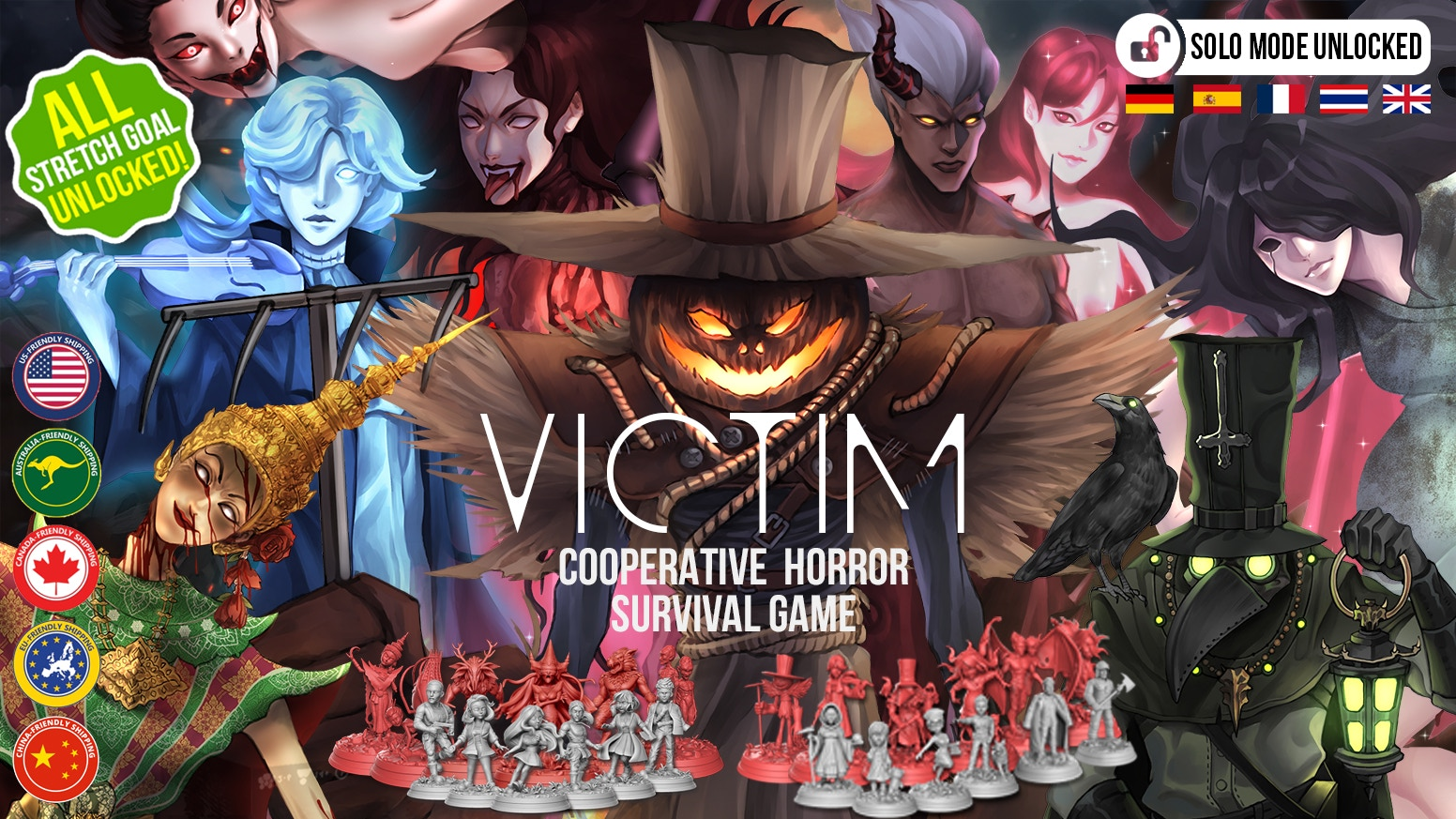 A cooperative horror survival game for 1-6 players. Find a way to survive from the Evil that will possess someone in your group!