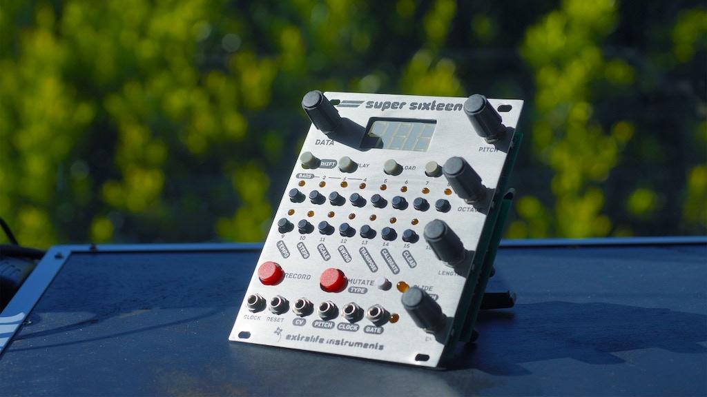 Super Sixteen eurorack sequencer module project video thumbnail