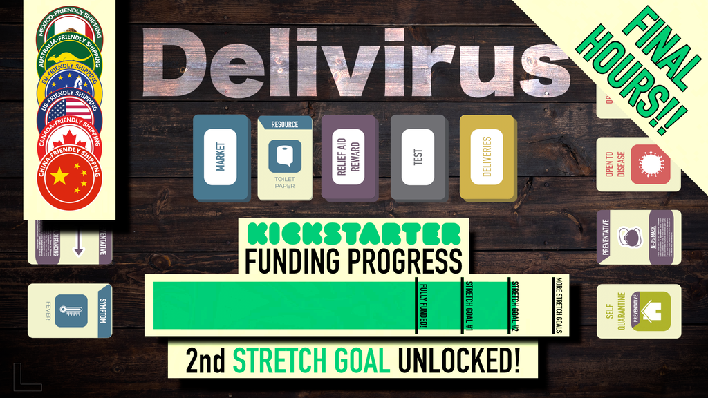 Delivirus - Card Game project video thumbnail
