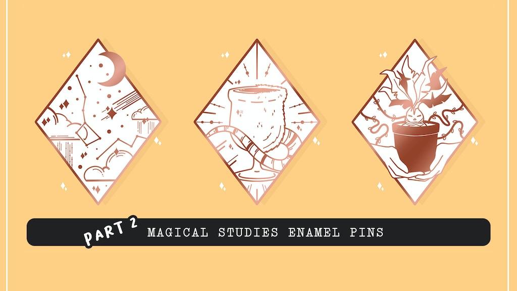 Magical Studies Enamel Pins : Part 2