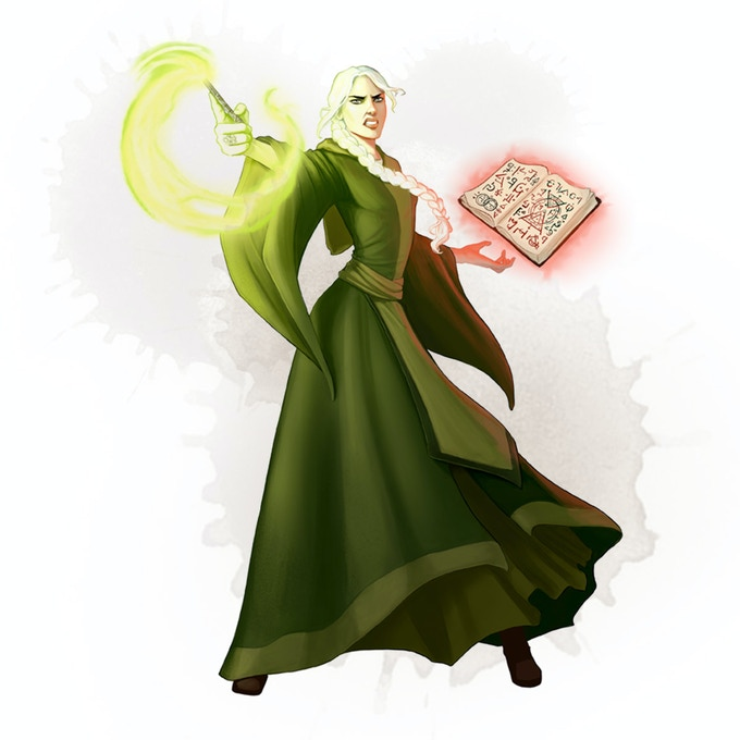The cult leader Lavinia