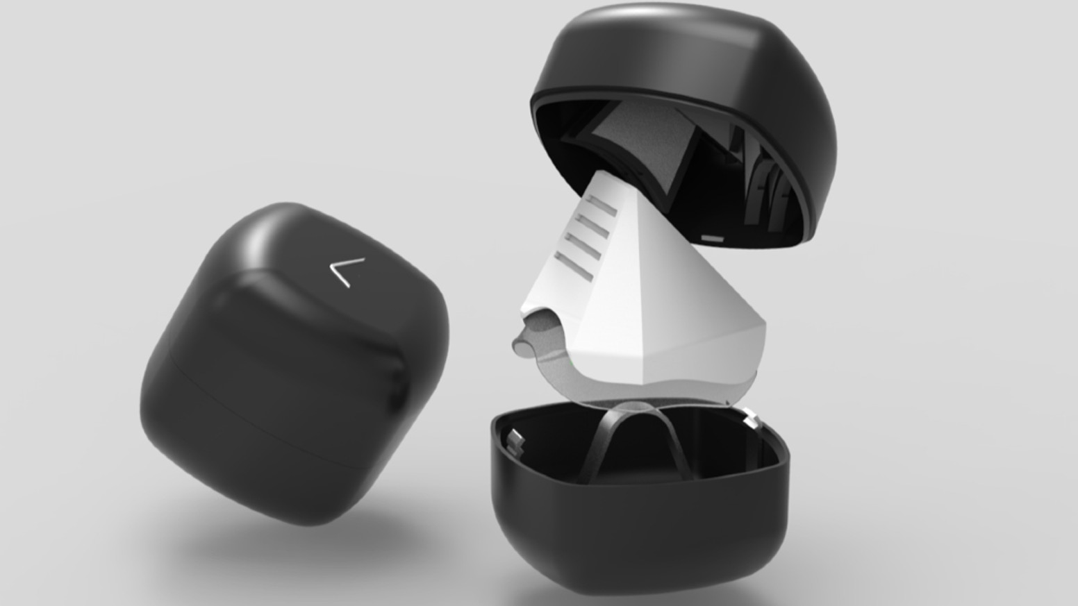 A sustainable device designed to protect against air pollution and allergies.