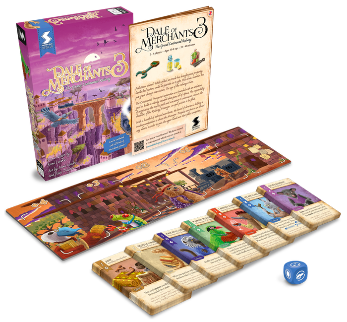 Competitive deck building card game featuring charming animals and artwork