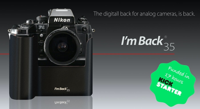 Are you analog and have a roll already?  I am not jealous. I'm Back®35.