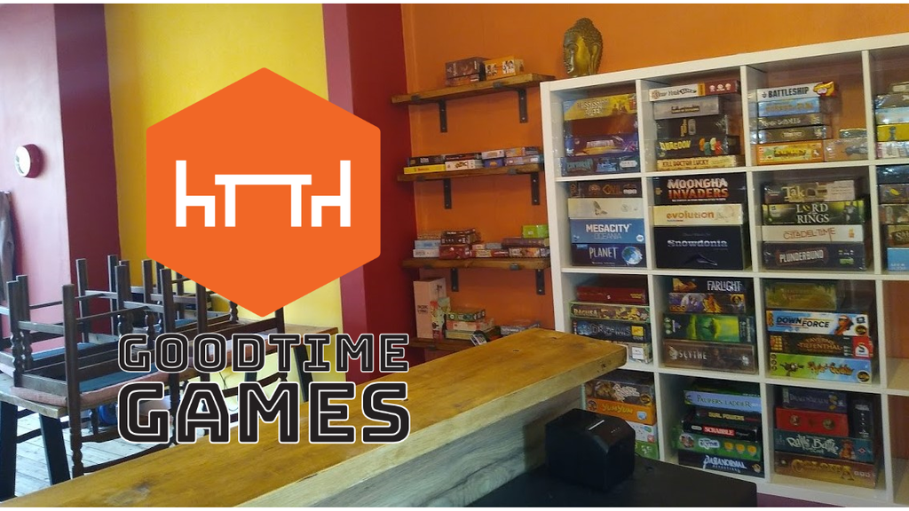Goodtime Games - A Board Games Café in Manchester, UK project video thumbnail