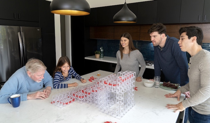 Using the power of gravity and inspired imagination, MagnetCubes is an innovative way to relax and have fun.