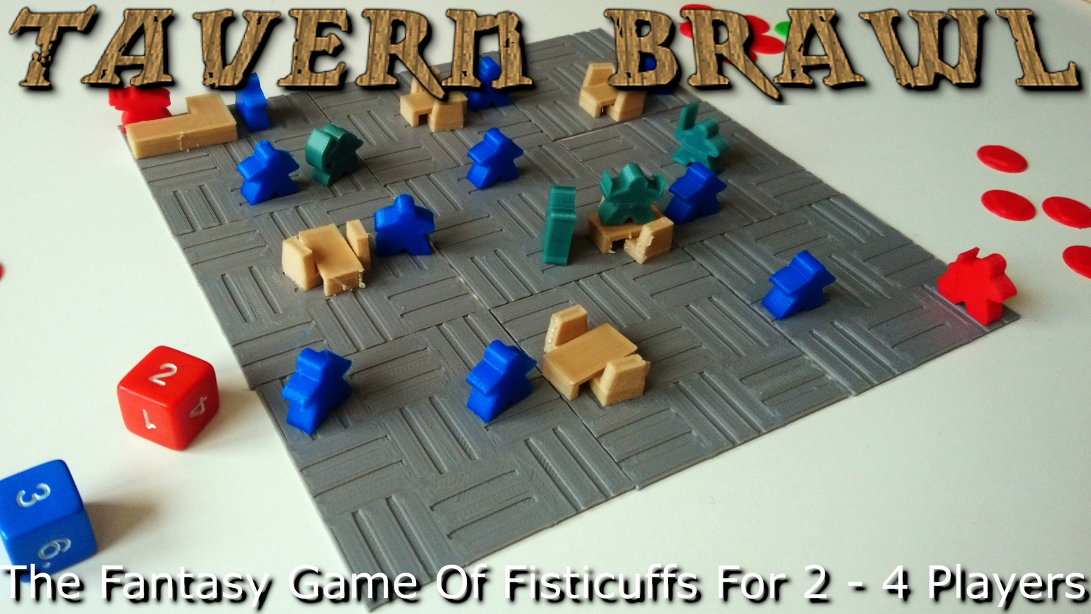 The Fantasy Game of Fisticuffs For 2 - 4 Players