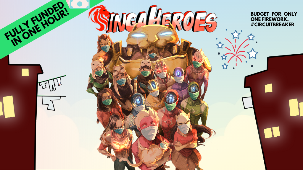 SingaHeroes: COVER-19 Edition project video thumbnail