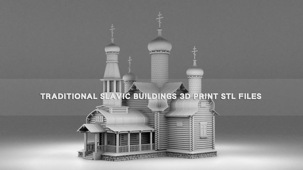 Slavic buildings project video thumbnail
