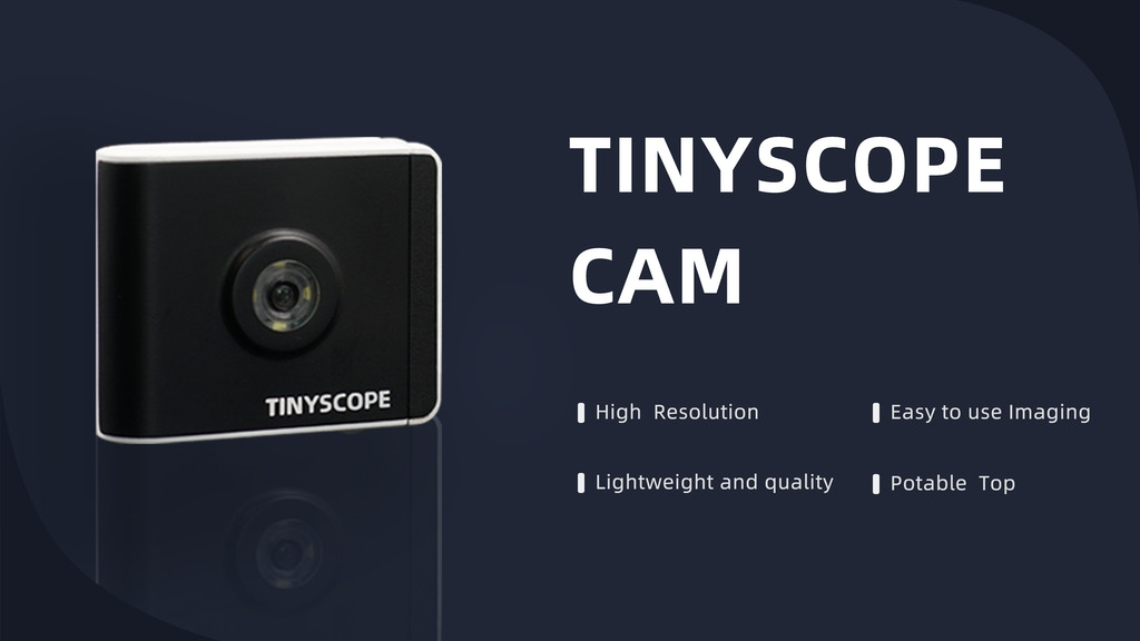 TinyScopeCAM—Magnify the world at will