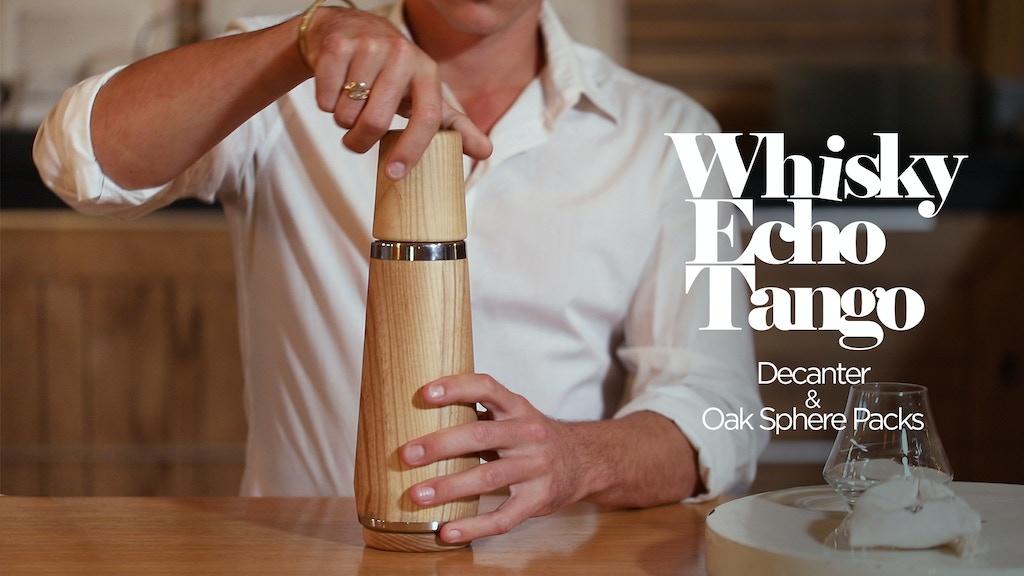 W.E.T Whisky Decanter & Oak Sphere Packs project video thumbnail