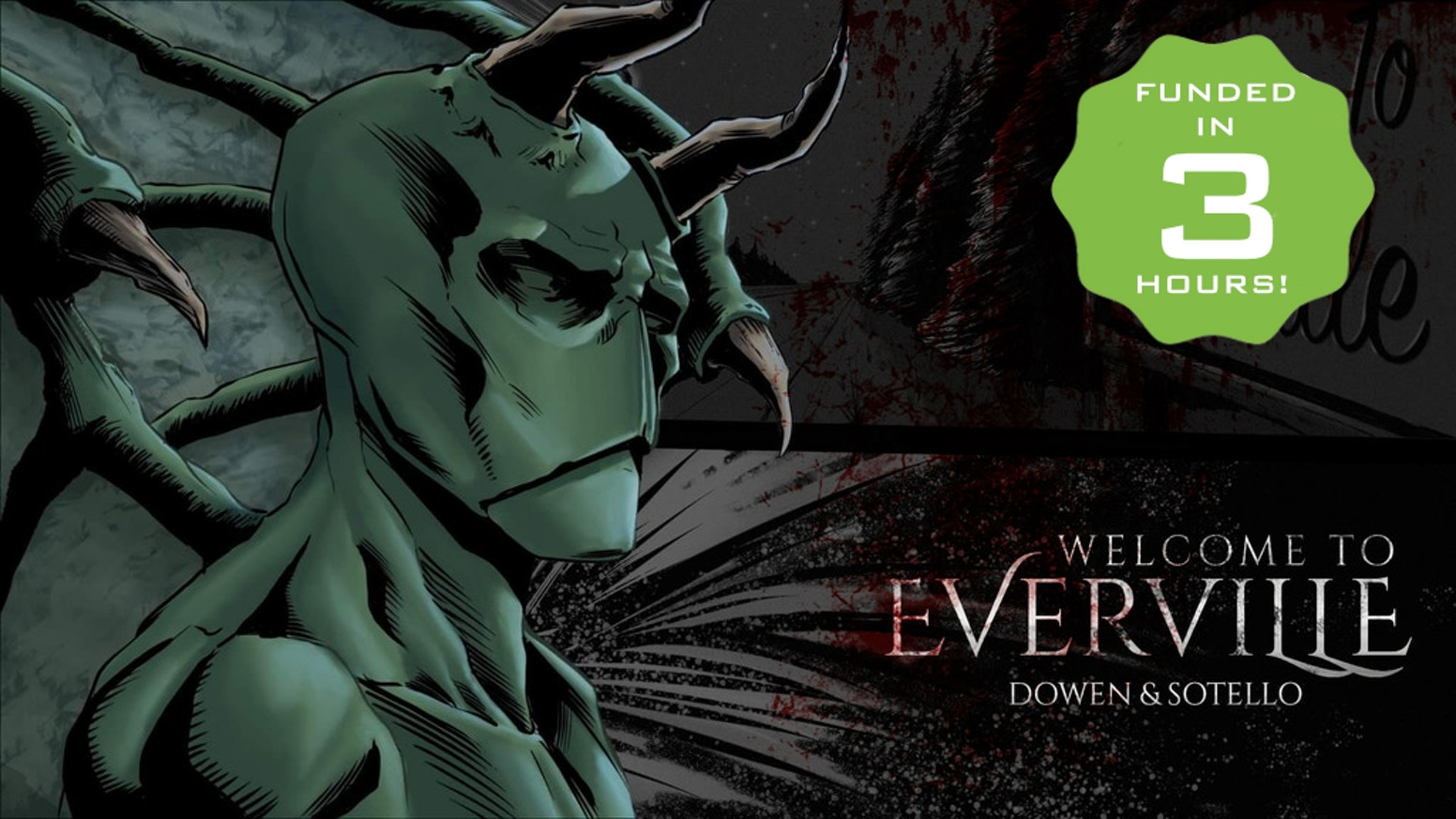 A horror/dark fantasy comic book series about a family on the brink of worldwide catastrophe.