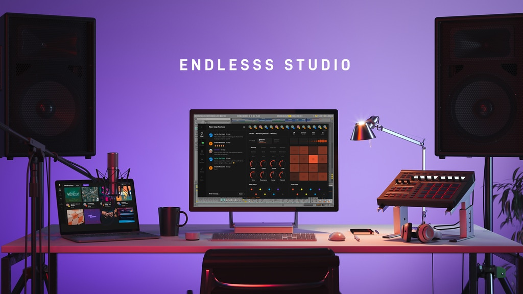 Endlesss: Live collaborative music studio and social network project video thumbnail