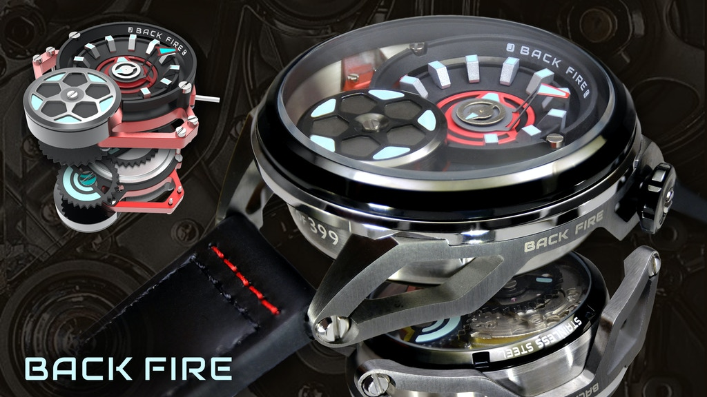 BackFire Automatic Watches project video thumbnail
