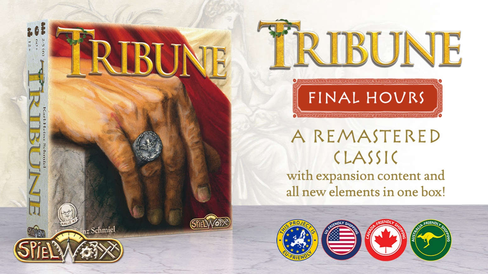 Tribune: Primus Inter Pares & Expansion with new mechanisms & features!