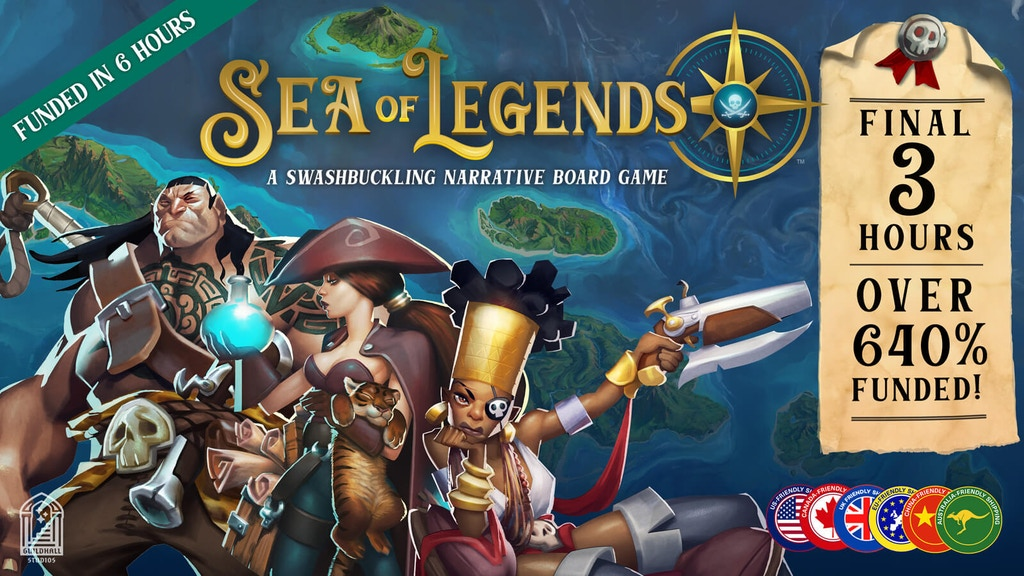 Sea of Legends project video thumbnail