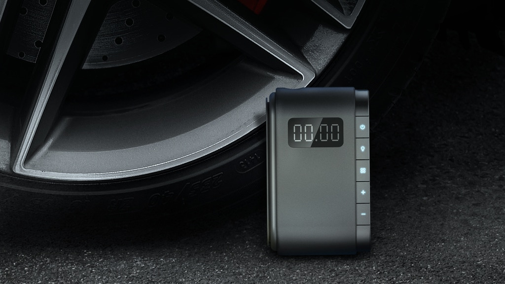 PUMPIT: A Handheld & Cordless Smart Auto Tire Inflator