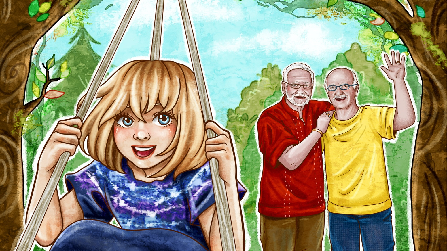 First Children's Picture Book to Feature Married Gay Grampas