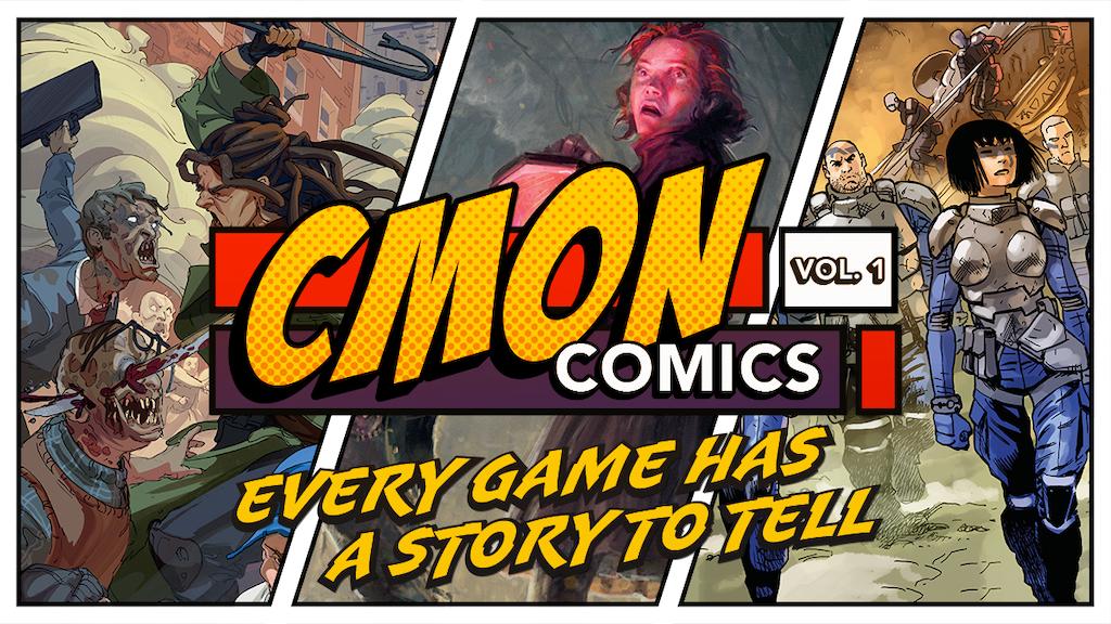 CMON Comics - Vol. 1 project video thumbnail
