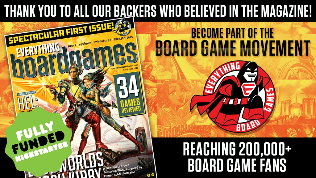 Limited Edition Copy EverythingBoardGames Digital Magazine project video thumbnail