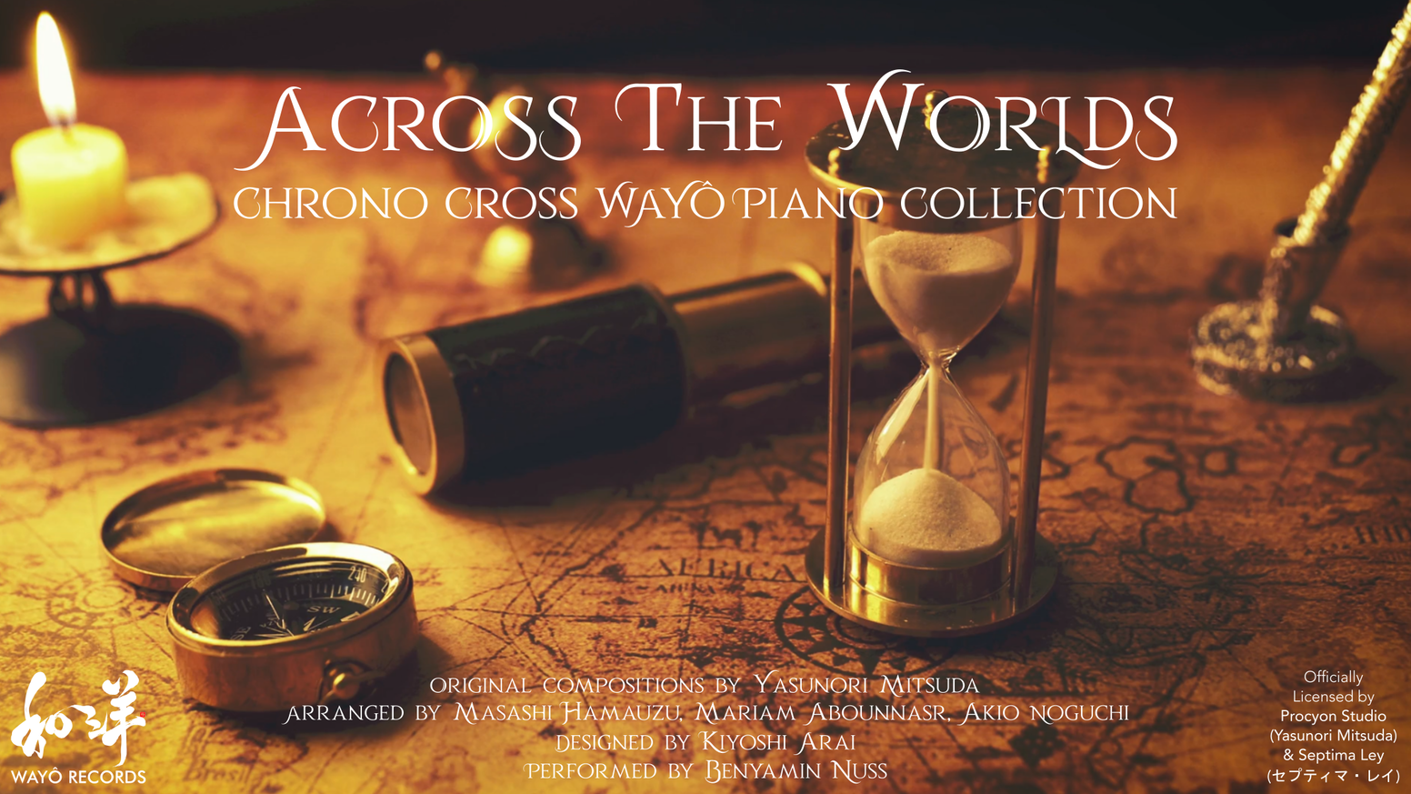 Album based on the music of the famous RPG Chrono Cross, created with some of the best Japanese video game artists.
