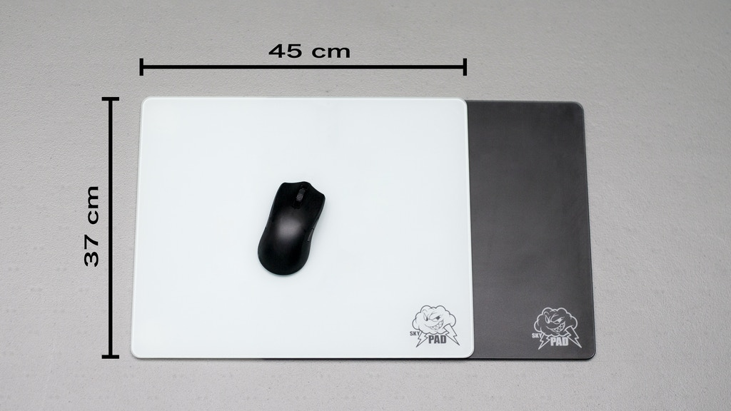 Mousepad of Glass XL (37x45cm) project video thumbnail
