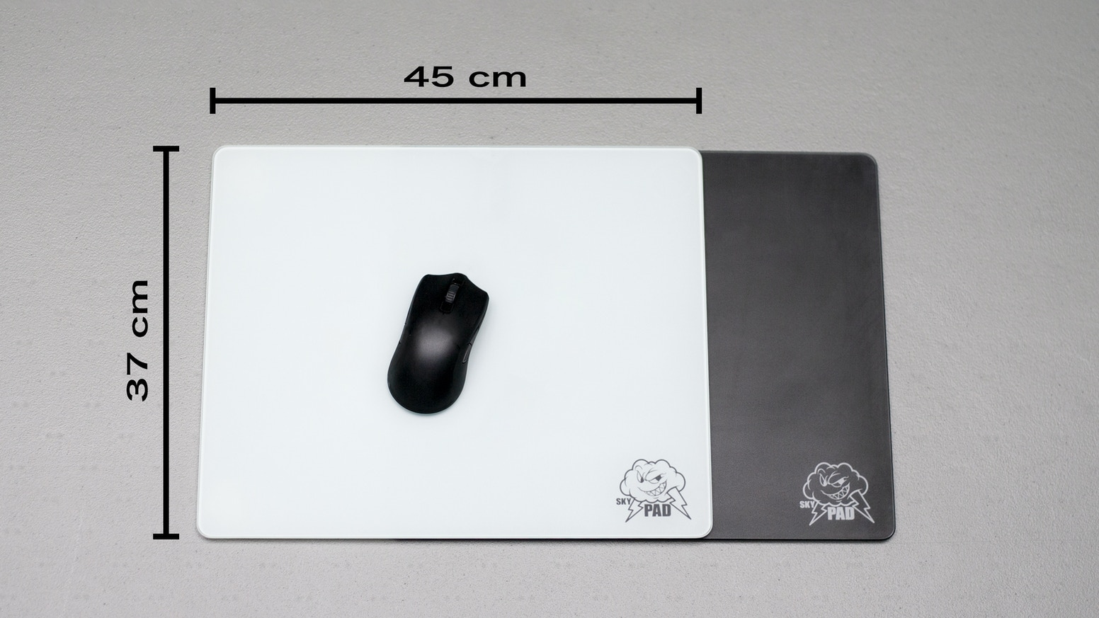 SkyPAD Glass XL - Prepare to buy your last mousepad!