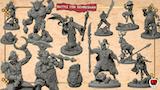 Battle for Genbushan, 3D printable STL miniatures thumbnail