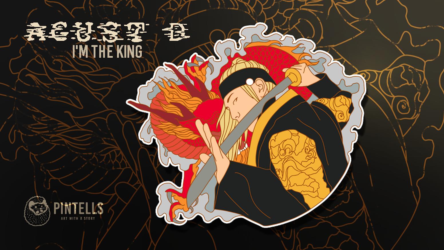 Agustd2 I M The King Pin By Pintells Kickstarter